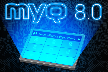 MyQ 8.0 just released with new architecture!