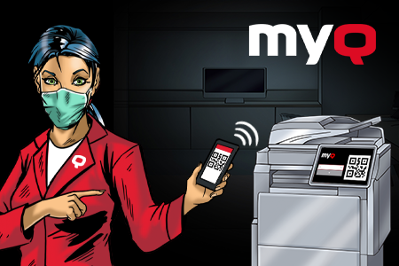 MyQ's Contactless Printing to Minimize Unnecessary Touch