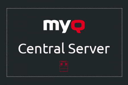 Introduction of the MyQ Central Server