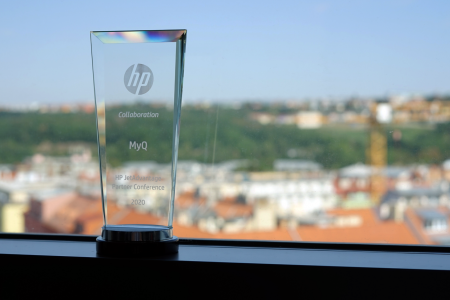 Prestigious HP Collaboration Award for MyQ
