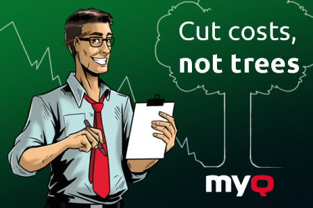 Saving money with Printing: Cut costs, not trees