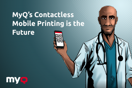 MyQ's Contactless Mobile Printing is the Future