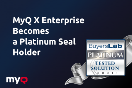 MyQ X Enterprise: When Gold is Not Enough