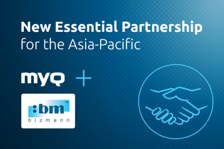 Bizmann Becomes MyQ's Authorized Master Solution Partner in Asia-Pacific